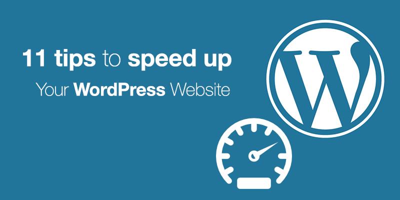 11 Tips To Speed Up Your WordPress Website - Codester Blog ...