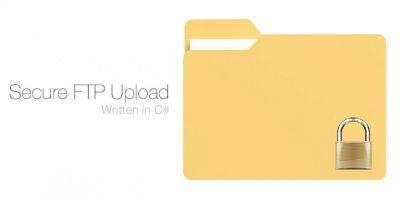 Secure FTP Upload Written in C#