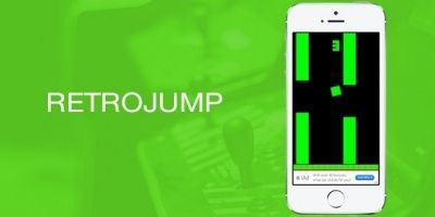 RetroJump iOS Game Source Code