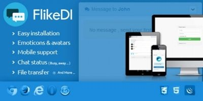FlikeDi Chat - Instant Messenger PHP Script