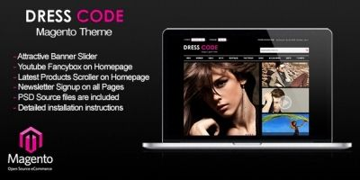 Dress Code - Magento FashionTheme