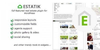 Estatik - Real Estate Plugin For Wordpress