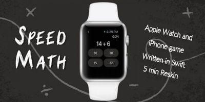 Speed Math - Apple Watch Game iOS