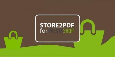 Store2PDF for Prestashop