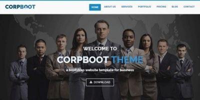 Corpboot – Corporate HTML Template
