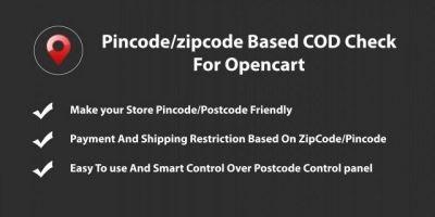 Postcode Checker Opencart Module
