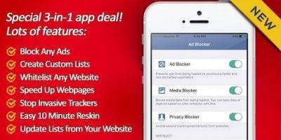 Ad Blocker - iOS App Source Code