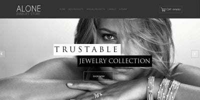 Alone Jewelry - PrestaShop Theme