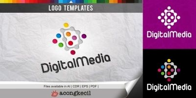 Digital Media - Logo Template