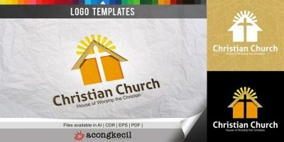 Christian Church - Logo Template