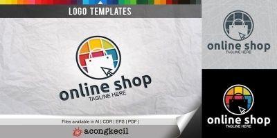 Online Shop - Logo Template