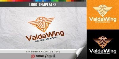 Valda Wing - Logo Template