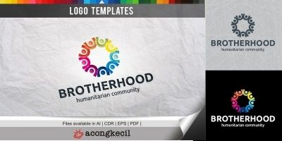 Brotherhood - Logo Template