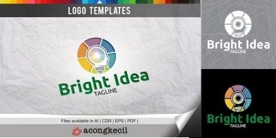 Bright Idea - Logo Template