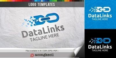 DataLinks - Logo Template