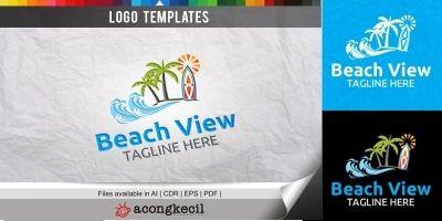 Beach - Logo Template