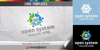 Open System - Logo Template