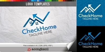 Check Home - Logo Template