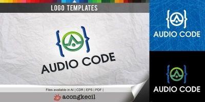 Audio Code - Logo Template