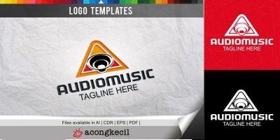 Audio Music - Logo Template