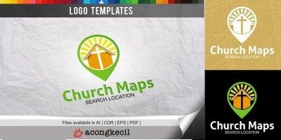 Church Maps - Logo Template