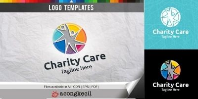 People Charity - Logo Template