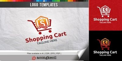 Shopping Cart - Logo Template