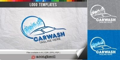 Car Wash - Logo Template