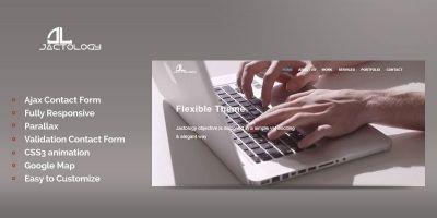 Jactology - HTML5 Business Template