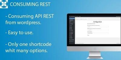 Consuming API REST - WordPress Plugin