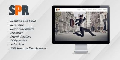 SPR - One Page Responsive HTML Theme
