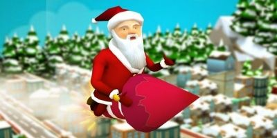 Santa Claus Runner 3D - Unity Source Code