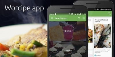 Worcipe – Android Recipe App Source Code