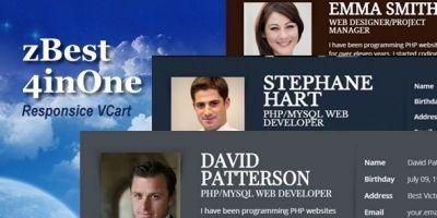 Zbest  - Portfolio Vcard HTML Template