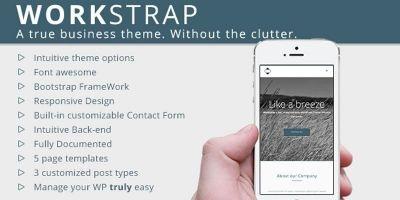 WorkStrap - Business  Wordpress Theme