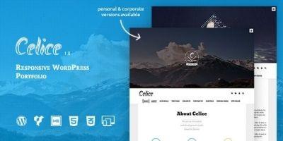 Celice - WordPress Portfolio Theme