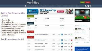 Betting Tips - Joomla Extension