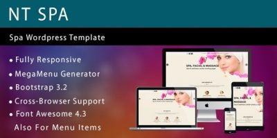 NT Spa – Spa Wordpress Theme