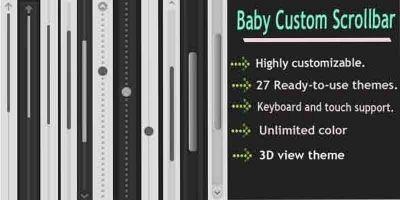 Baby Custom Scrollbar - WordPress Plugin
