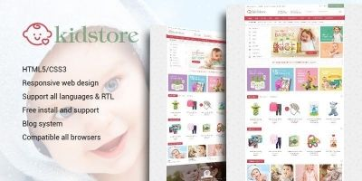 Kidstore - Children & Kids PrestaShop Theme