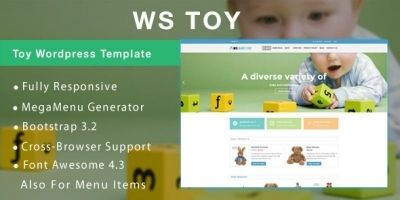 WS Toy – Toy Store WooCommerce Theme