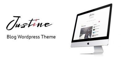 Justine - Responsive WordPress Blog Theme