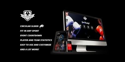 Multisports Landing Page - HTML Template