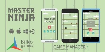 Master Ninja - Unity Game Source Code