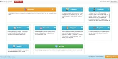 Business Inventory System PHP Script