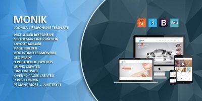 Monik - Responsive Multi-purpose Joomla Template