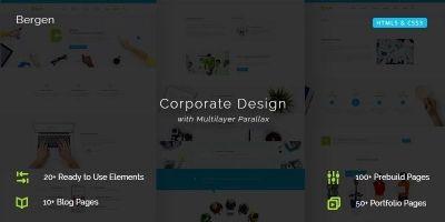 Bergen Multi-purpose Business HTML5 Template