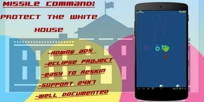 Missile Command - Android Game Source Code