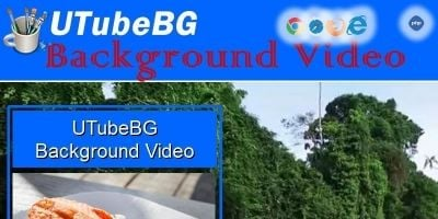 UTubeBG -  Youtube Background Video PHP Script