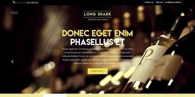 Long Shark - Wine and Whisky Prestashop Theme